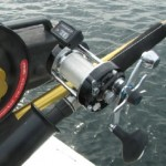 The ABU Garcia 7000i SYNCHRO.  What a line counter reel for Great Lakes Trout and Salmon Fishing!