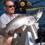 June is the time for bigggg browns, our boat record..., 25 lbs.4 oz.