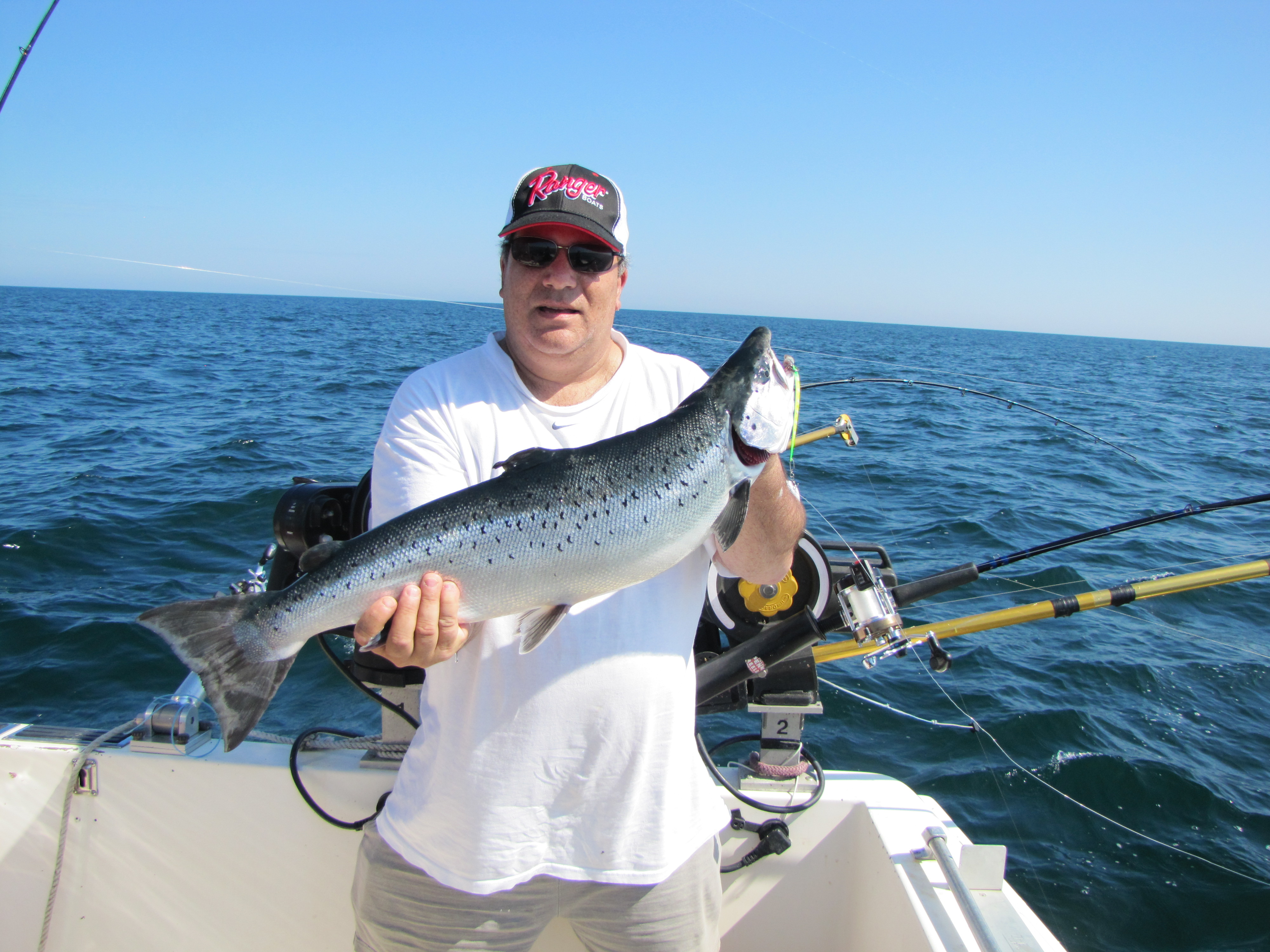 Lake ontario fishing charters oswego ny for Salmon river ny fishing regulations