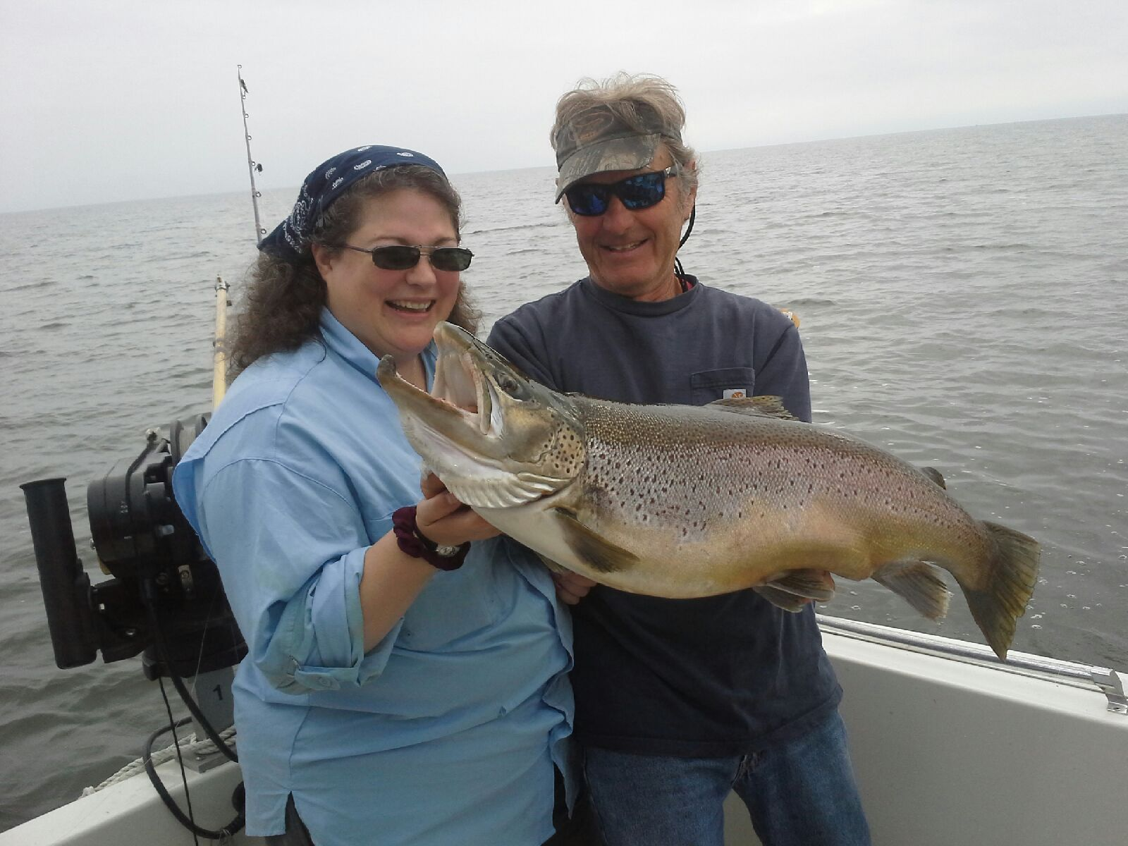 Add new tag fish doctor charters for Salmon fishing lake ontario