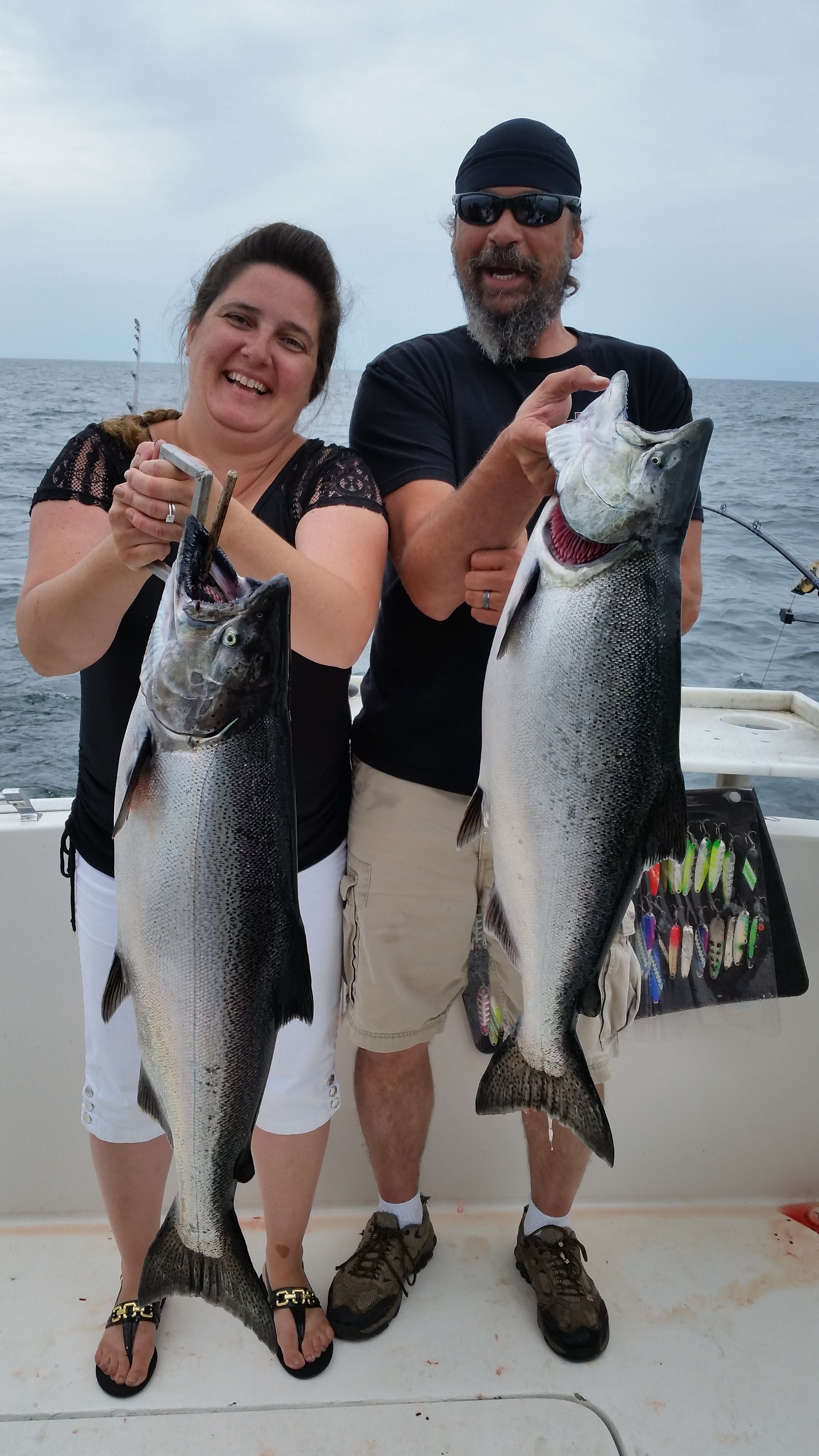 Lake ontario salmon fishing report fish doctor charters for The fish doctor