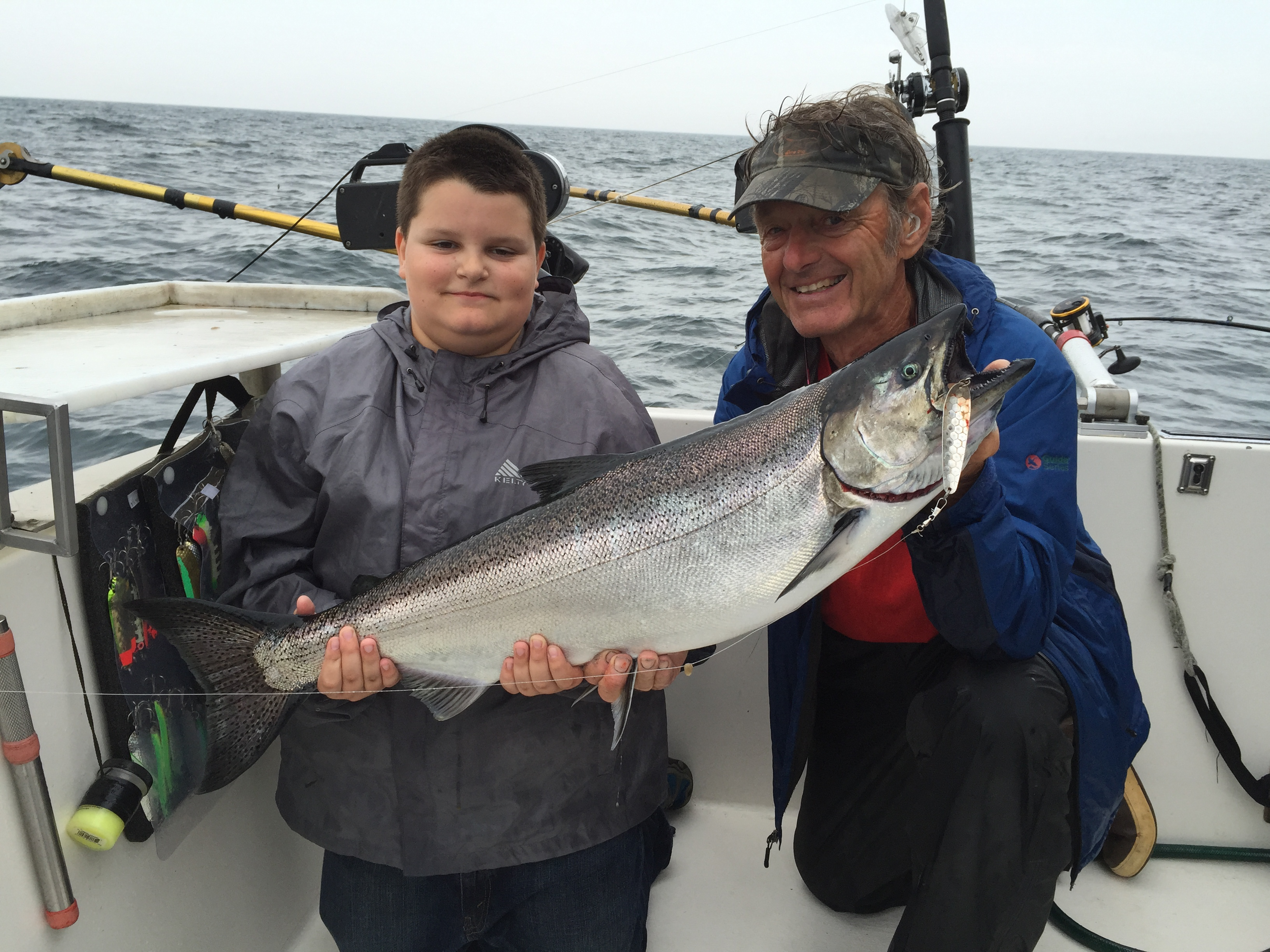 Lake ontario trout and salmon fishing preferred water for Lake ontario salmon fishing charters