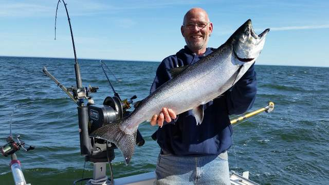 Nysdec lake ontario fishing report for Eagle lake ontario fishing report