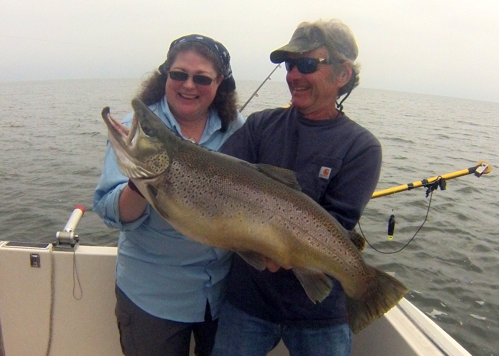 Lake ontario salmon fishing tips fish doctor charters for Lake trout fishing tips
