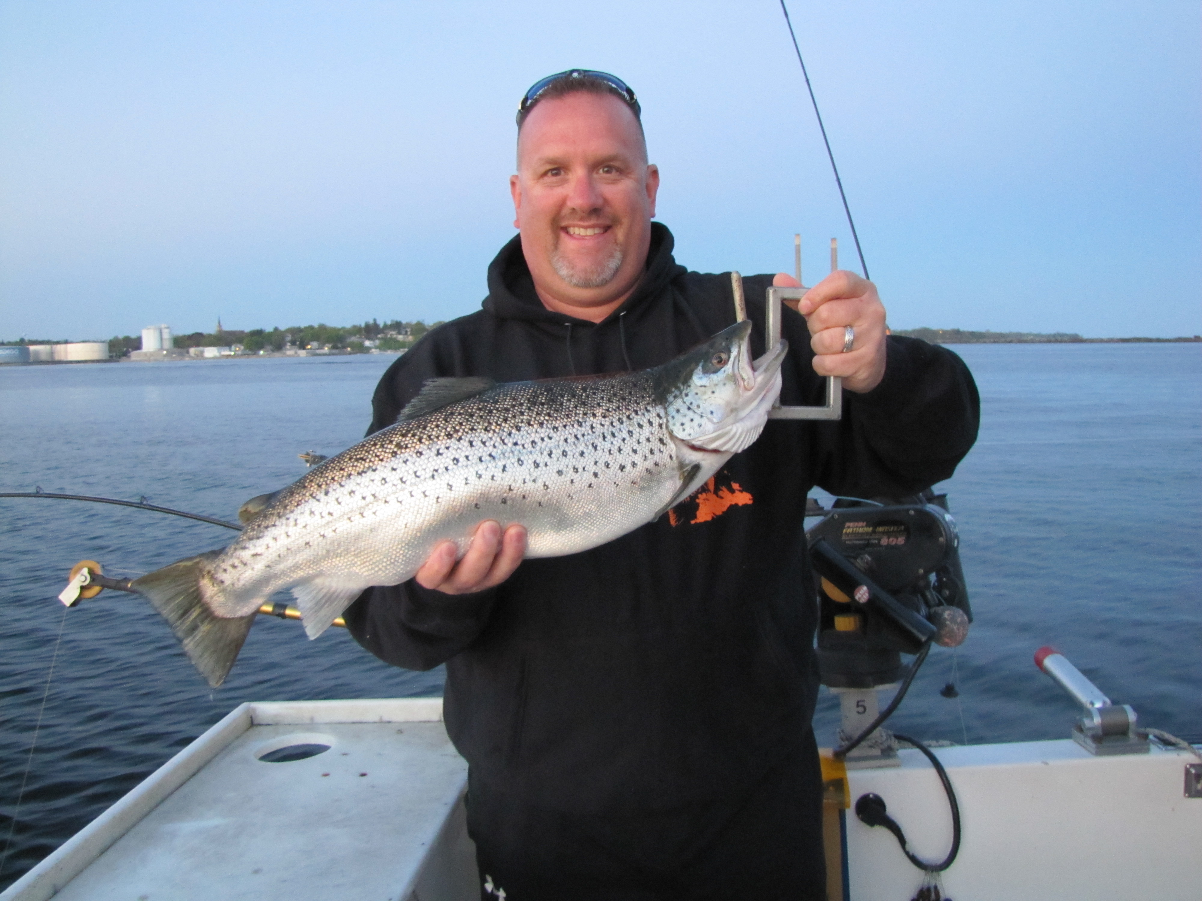 Lake ontario brown trout fishing tips fish doctor charters for Lake ontario salmon fishing charters