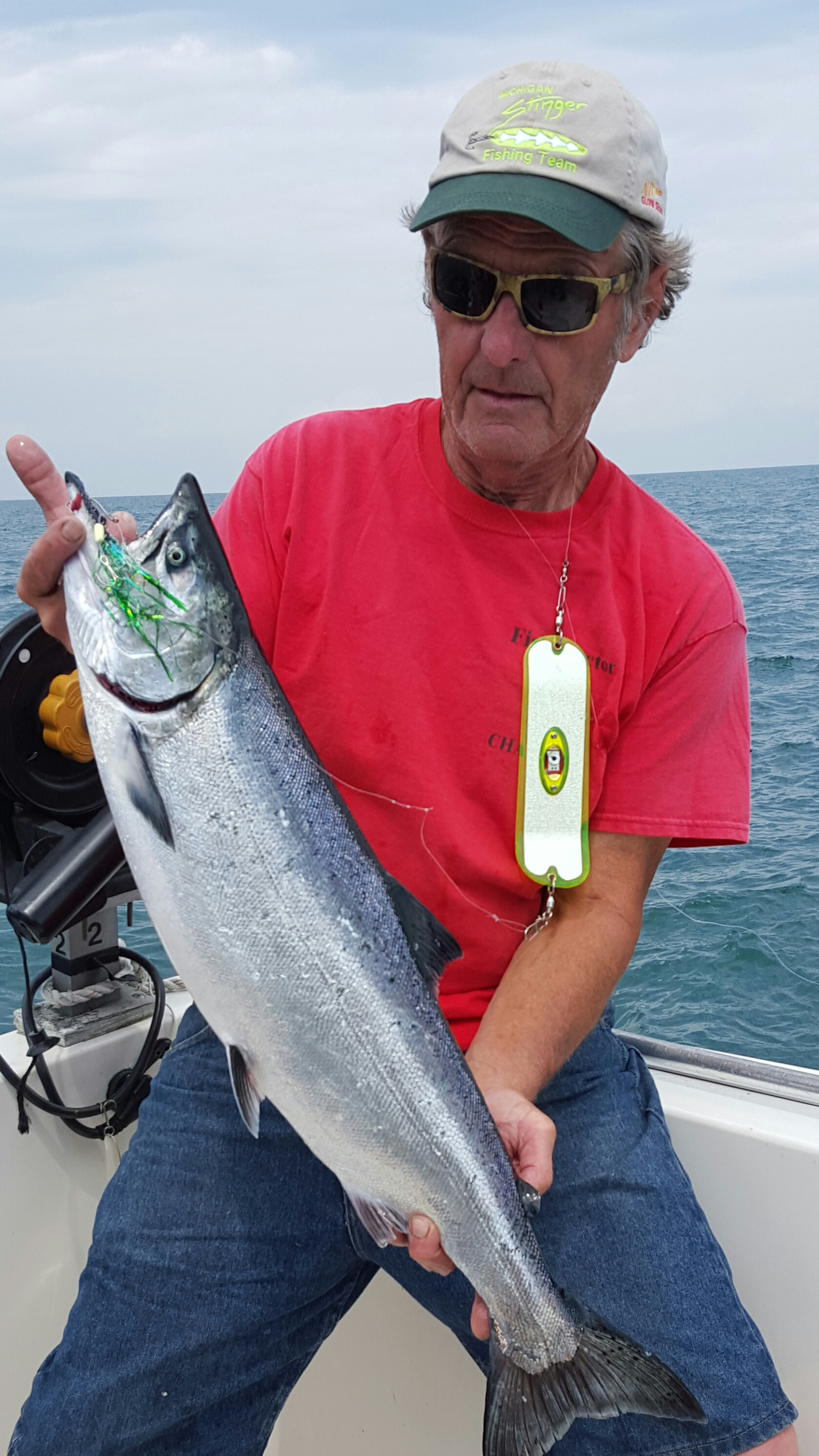 Lake ontario brown trout fishing tips fish doctor charters for Salmon fishing charters
