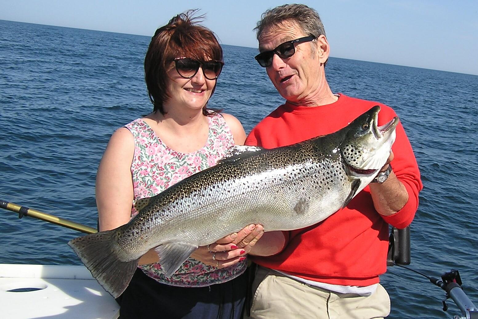 Lake ontario fishing charters fish doctor charters for Salmon fishing charters